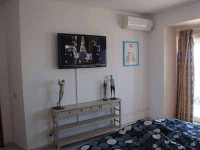 Lovely double bedroom with Aircond. SAT-TV
