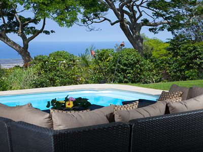 Kona Villa Ocean View Swimming Pool