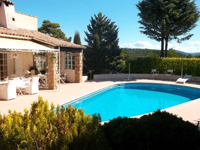 Luxury accommodation, with pool