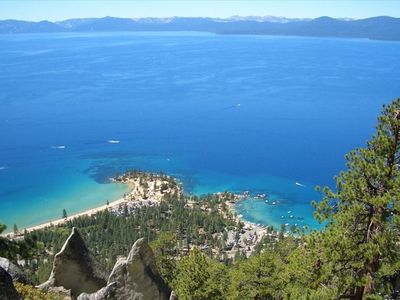 Tahoe Rim Trail / Flume view of Sand Harbor