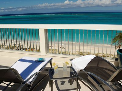 Providenciales - Provo condo rental - View of Grace Bay Beach and Ocean Reef