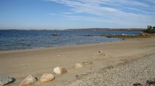 Chilmark cottage photo - Short Beach on Menemsha Pond