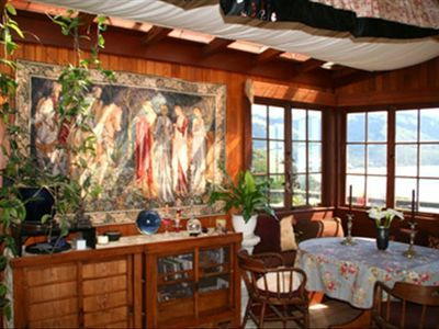 Dining Area with view of Stinson Beach