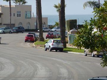 View down Isabella Avenue from condominim to the beach!