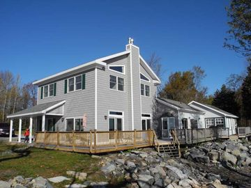 Plattsburgh lodge rental - 195' of Lakefront on Lake Champlain & Wrap Around Deck