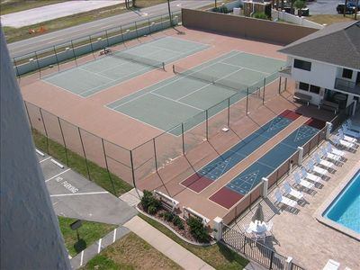 Two Tennis Courts and Shuffleboard For Your Use, Office & On-site Manager's Unit