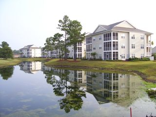 Wilmington condo photo - Condos from 15th green