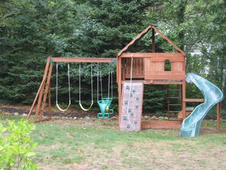 Chatham house photo - Backyard Wooden Playset