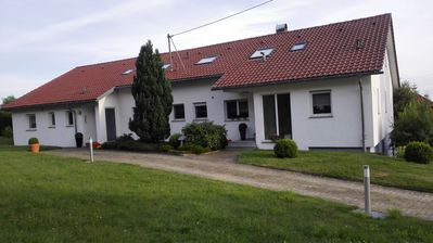 New, modern apartment - wonderful in the countryside - just to feel good
