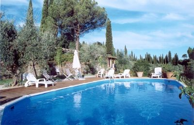 Villa Poggio, private pool