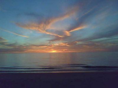 Pentwater cottage rental - Every night brings a beautiful sunset