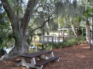 Wild Dunes condo photo - Go Fishing or Enjoy Views From this Dock