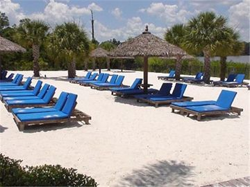 private beach area for our guests