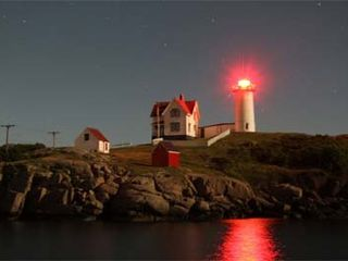 York Beach house photo - Nubble Light at Night