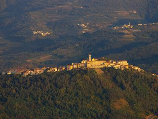 Motovun apartment photo - Motovun panorama taken froom hot air balloon