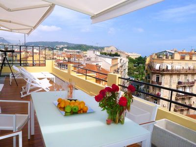 Absolutely Superb Penthouse Flat In The Heart Of Nice