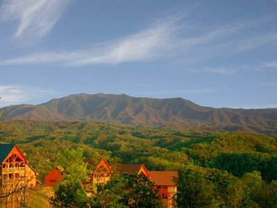 Your spectacular view of the Smoky Mountains