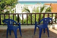 Terrace views of the Caribbean. - Playa del Carmen villa vacation rental photo