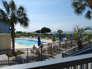 Pool And Beach Just Outside Your Condo Be Vrbo