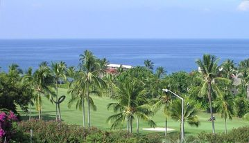 Keauhou condo rental - Lovely ocean views from your two spacious lanais!