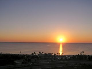 Bonita Springs condo photo - Gulf Sunset from the Lanai
