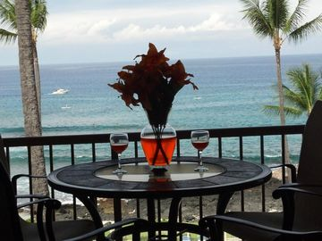 Kailua Kona condo rental - Your View From Your Private Lanai.