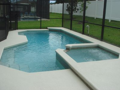 The Pool with Removable Safety Fence
