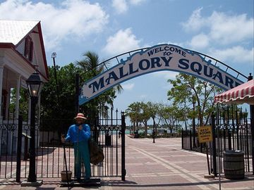 Mallory Square. A must for your visit to Key West!