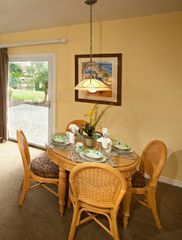 Kissimmee property rental photo - Dining at Liki Tiki Resort