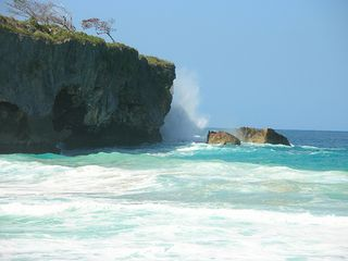 Cabrera villa photo - The cliffs at Playa Grande.