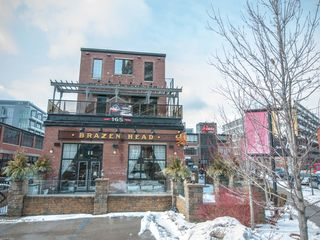 Toronto condo photo - Four story Irish pub around the corner, our building is in the background