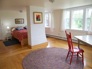 Annapolis Valley house photo - Unwind in the spacious, principal bedroom with a beautiful view.