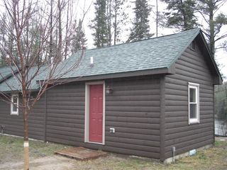 Grayling cabin photo - Cabin surrounded by the White Pines and the Au Sable River.