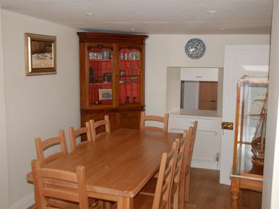 Tenby house rental - Dining Room