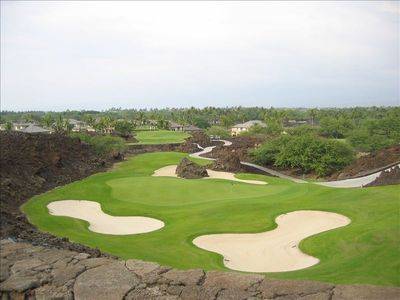 Mauna Lani condo rental - !7th Hole on the North Course