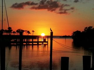 Punta Gorda condo photo - Sunset on December 2, 2012 at the traditional gathering on the Marina Walk