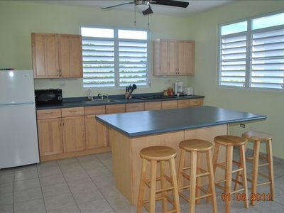 Eat-In Kitchen, with microwave, stove top and fully equipped