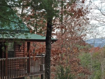 Townsend cabin rental - Beautiful setting in the Smokies