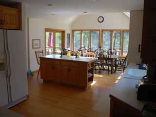 Chatham estate photo - kitchen with dining behind