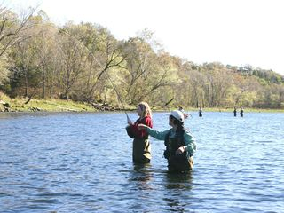 Branson cabin photo - Branson offers many fishing lakes and a hatchery with tours. Photo courtesy BCC