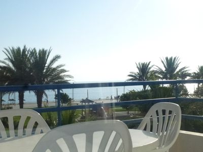 Apt sea view Quarteira Beach
