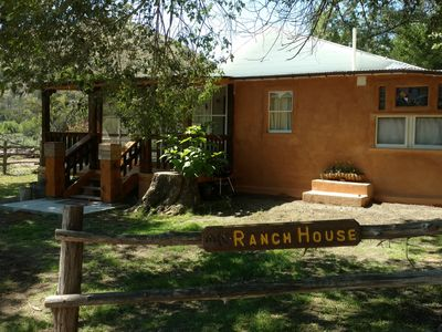 Rustic Ranch Headquarters with Extra Large Veranda