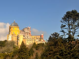 Colares house photo - Palácio da Pena stands on the rocky peaks of the Serra de Sintra. A must see!