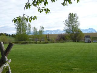 Bozeman house photo - North Meadow, pond and views for weddings & photos