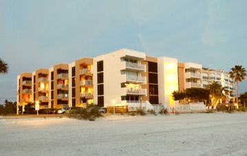Exceptional location on the white sand beach