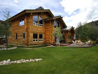 Elegant log home near crested butte vacation rental in for Elegant log homes