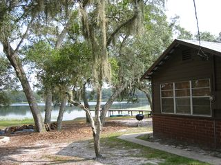 Ocala cottage photo - Lakeview from side of house