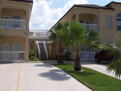 South Padre Island condo rental - Front Exterior