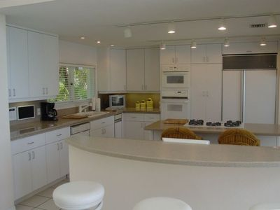 Gormet Kitchen with Granite Countertops