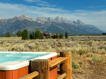 Your hot tub view, now that's relaxing!!